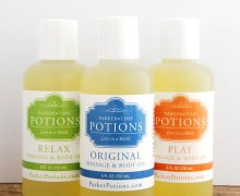 All-Natural Massage Oils