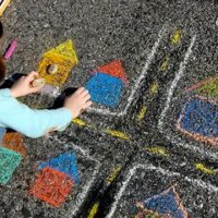 Inspire Your Little Chalk Artist
